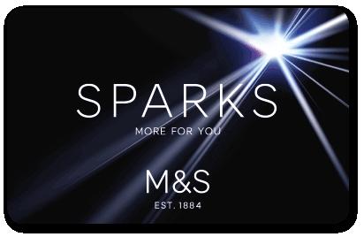 Marks Spencer Membership Sparks card