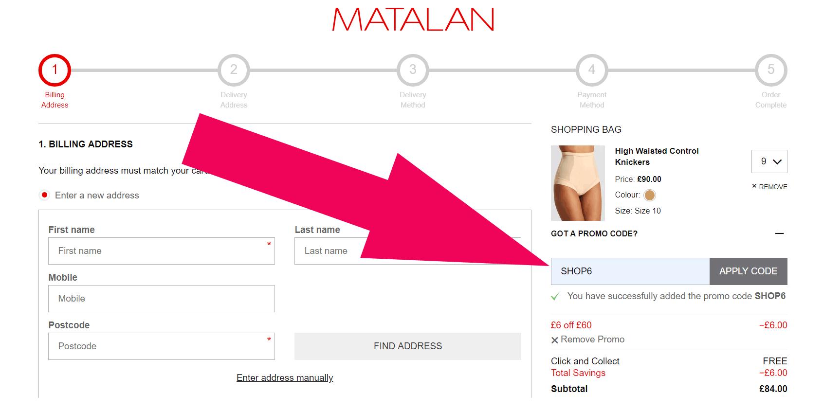 matalan coupons 2019